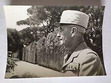 ww2 photo press Gen. Catroux à Beyrouth      B511