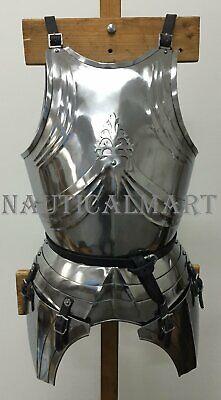 NauticalMart Gothic Medieval Knight Steel Greaves Leg Armor Renaissance Costume