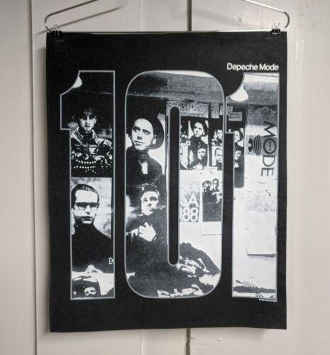 Depeche Mode 101 Shirt Sample Rare 1989 Promo