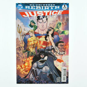 JUSTICE LEAGUE #1 - DC Universe Rebirth Comics 2016 - VF+