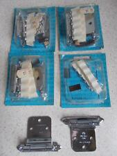 4 pair pr T-7630 AMEROCK MODERN SELF CLOSING HINGES NIP NOS NEW vintage 2 7/8""