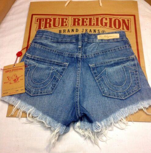 tagliati Cadence True 24 Religion 178 Pantaloncini Altezza in denim vita New Nwt wZF4IcHq4