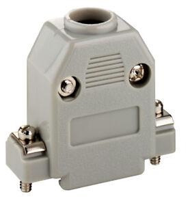 SUB-D-Hauben-9-polig-Kunststoff-grau-PH-09