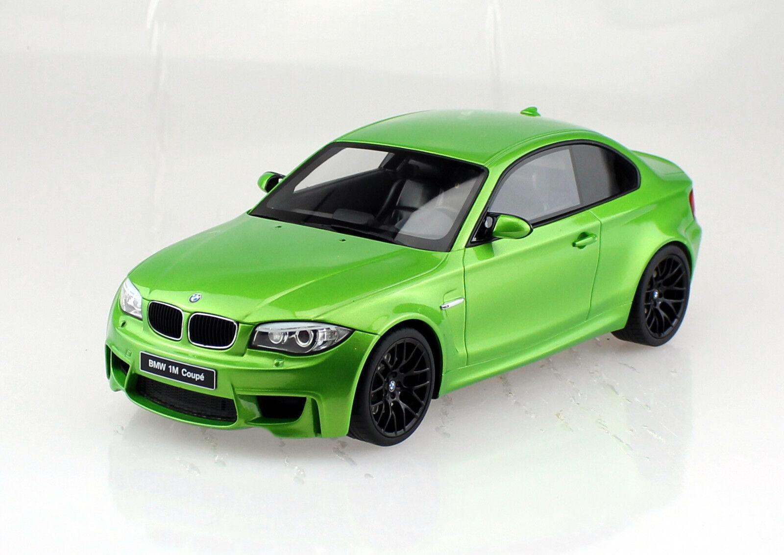 Bmw 1m 1er Coupe verde e82 1 18 GT Spirit maqueta de coche
