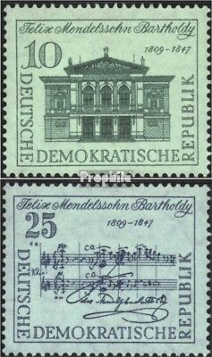 complete Issue Unmounted Mint / Never Hinged 1959 Special Stamps To Be Renowned Both At Home And Abroad For Exquisite Workmanship Ddr 676-677 Skillful Knitting And Elegant Design