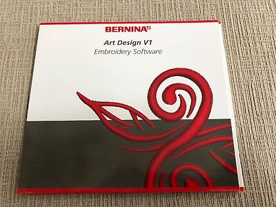 Bernina Art Design Embroidery Software With 40 Embroidery Designs Ebay