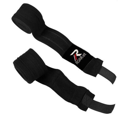 "ROAR 30 Pairs-180/"" Semi Elastic Hand Wraps Lot Whole Sale Boxing Bandage Premium"
