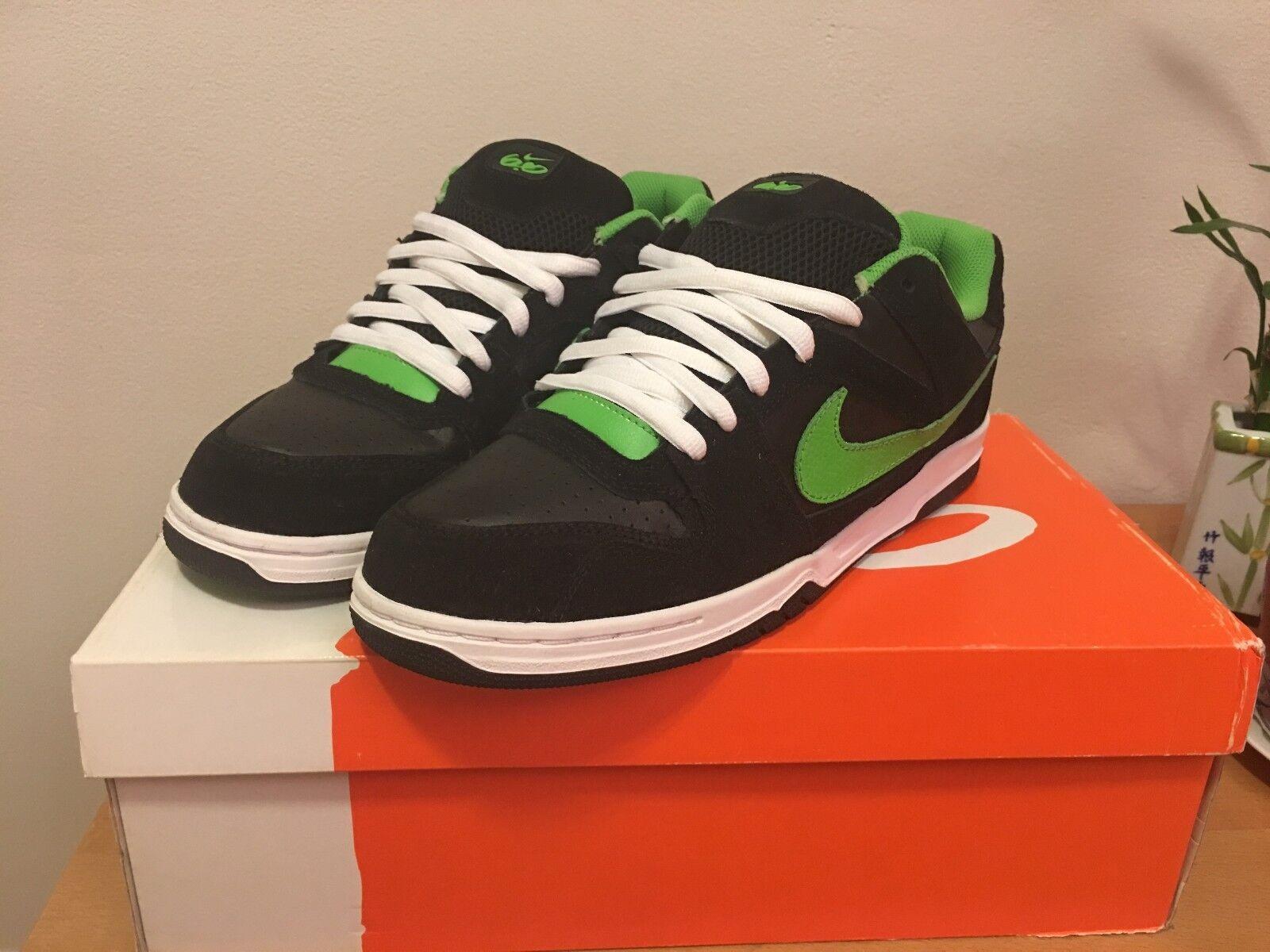 Nike Encore Zoom Men's Size 11.5 (Black/Green) NEW - BRAND NEW (Black/Green) IN BOX d9bf2b