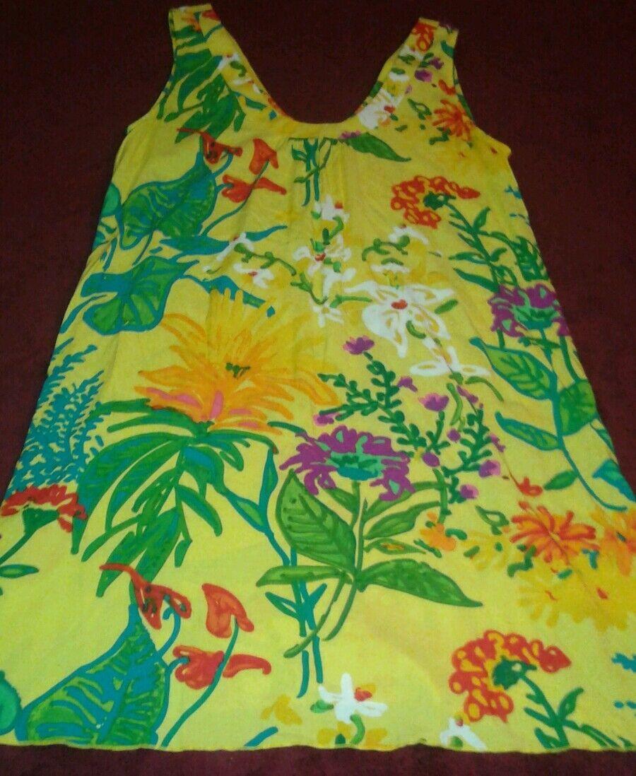 Jams World 50th Anniversary Collection Ärmelloses Kleid Florest M Cruise Wear