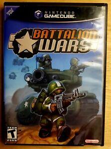 Battalion Wars (Nintendo GameCube, 2005) No Manual *TESTED & WORKING*