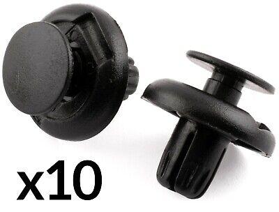 50x 8 Mm De Plástico Remache Trim clips para parachoques splashguards wheelarch Forro