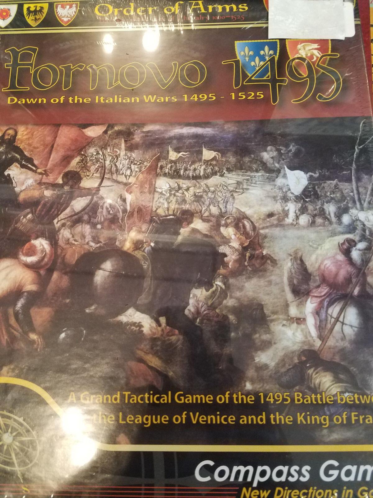 Juegos de tableros para la guerra italiana de de de Novo 1495. b84