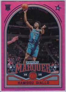2018-19-Panini-Marquee-Chronicles-Basketball-248-Hamidou-Diallo-Rookie-Card-OKC