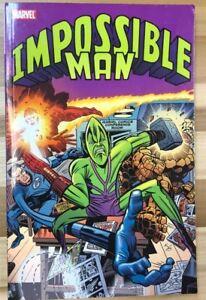 IMPOSSIBLE MAN (2011) Marvel Comics TPB VG+/FINE- 1st