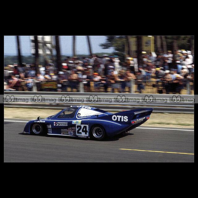 #pha.019710 Photo RONDEAU M379C RONDEAU-JAUSSAUD 24 HEURES DU MANS 1981 Car Auto