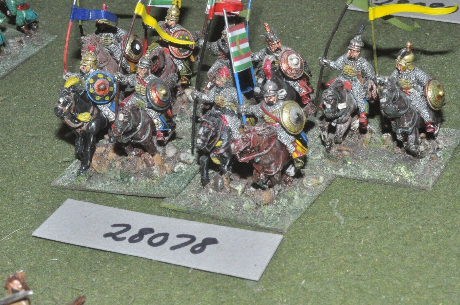 25mm renaissance   turkish - sipahis 10 figures - cav (28078)