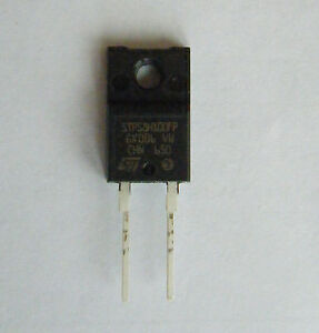 1 x STPS8H100FP Schottky Diode 8Amp 100Volt made by ST. TO-220FPAC Package