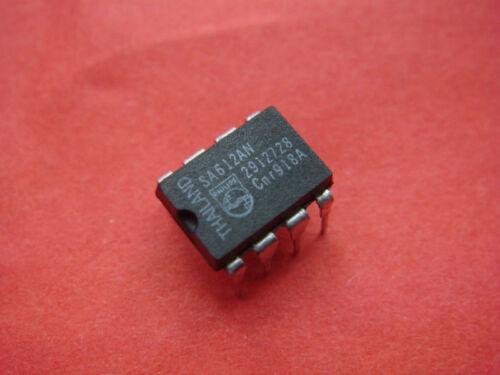 1P x SA612AN IC SA612A Double-Balanced Mixer Oscillator VHF