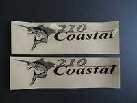Wellcraft Coastal 210 Fishing Boat Decal Set