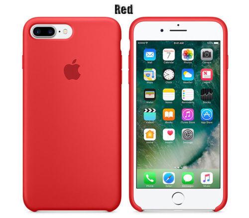 Original Genuine Silicone Case Apple IPhone 7 PLUS Various Colors Brand New Box
