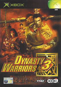 DYNASTY-WARRIORS-3-for-Xbox-with-box-amp-manual-PAL