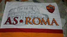 1 bandiera ufficiale As Roma 140x100 Totti Dzeko Colosseo De Rossi official flag