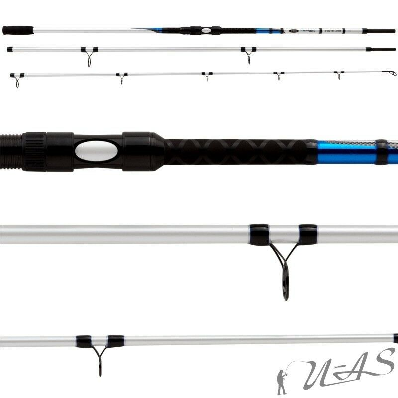 Mitchell Avocet Salt 4,50m 100250g solidtip SURF POWER CARBON increspature del mare stadia Ava