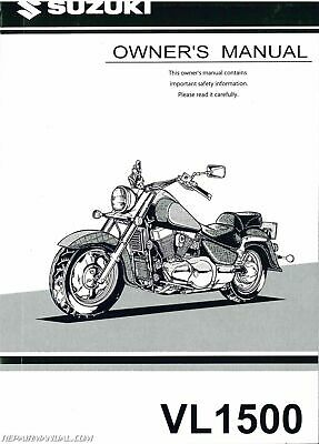 OEM Suzuki 99011-36F51-03A RM125K2 20 Owner/'s /& Service Manual