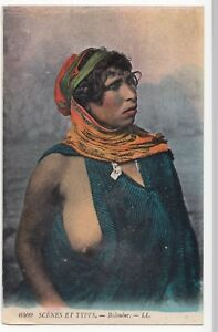Bedouine-LL-No-6409-PPC-Unposted-Bare-Breasted-Woman-in-Bedouin-Dress