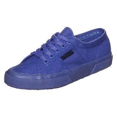 Superga 2750 Cotu Classic Sneaker Blau NEU Schuhe Turnschuhe