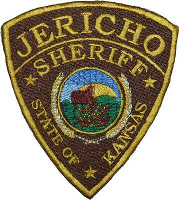 Jericho Sheriff Badge Embroidered Patch 10cm