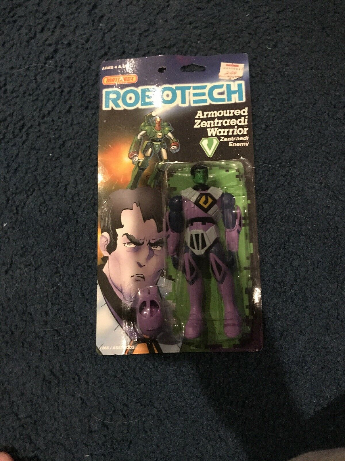 Robotech Zentraedi Warrior Rare-Collectible New
