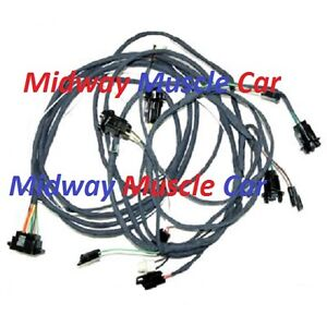 rear body tail light trunk wiring harness 67 68 Chevy Camaro rally sport  z/28 SS | eBayeBay