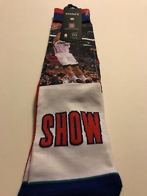 Stance x NBA Men The Blake Show Socks red