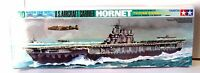 Tamiya 77510 1/700 Scale Us Navy Aircraft Carrier Hornet Cp110 Waterline Model