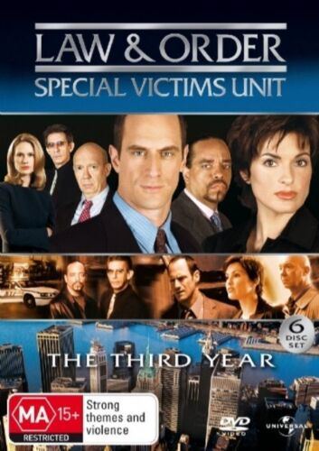 1 of 1 - Law And Order - Special Victims Unit : Season 3 (DVD, 2007, 6-Disc Set)