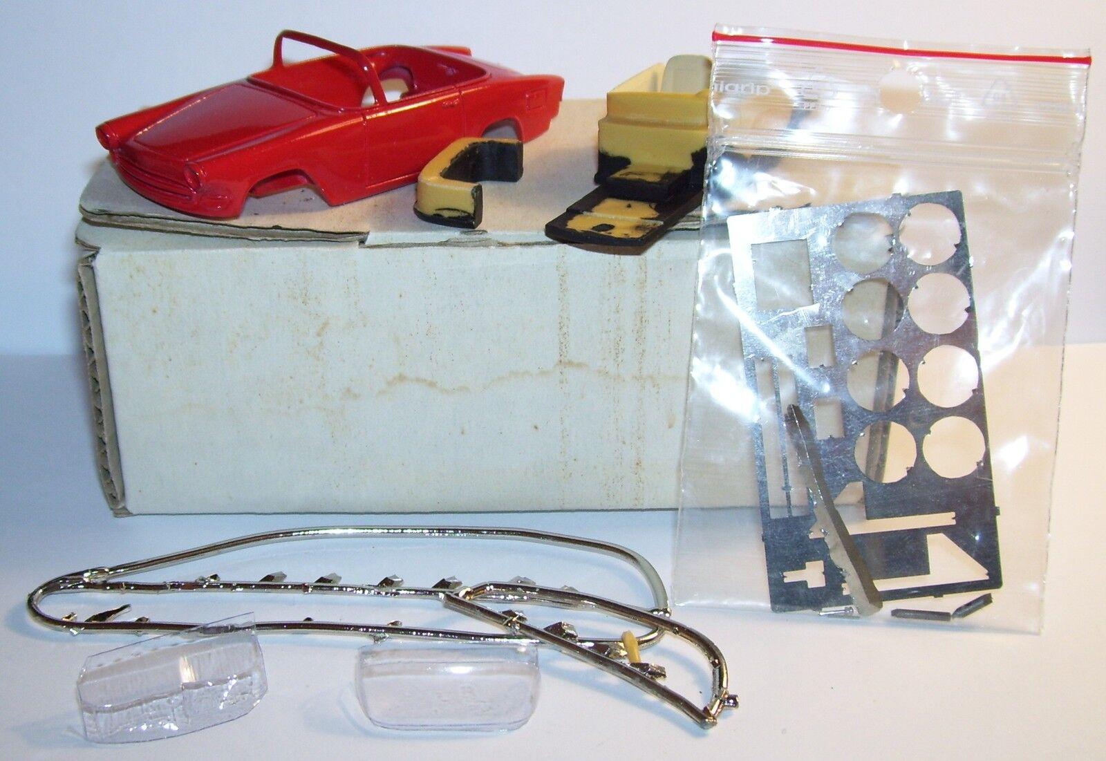 RARE HECO MODELS KIT RESIN SIMCA P60 OCEAN to assemble REF 77K 1 43 IN BOX