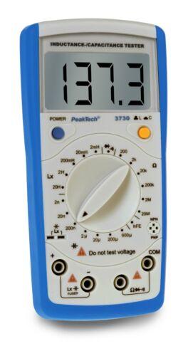 //capacité appareil de mesure//Inductance Peaktech 3730 induktivitäts //Capacitance testeur