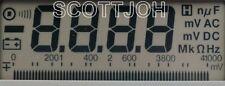 Fluke Pn 875534 Lcd Display For 29 Series Ii And 79 Series Ii Meters