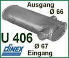 Unimog 406 403  U800 Auspuff  Auspufftopf MERCEDES Schalldämpfer M99