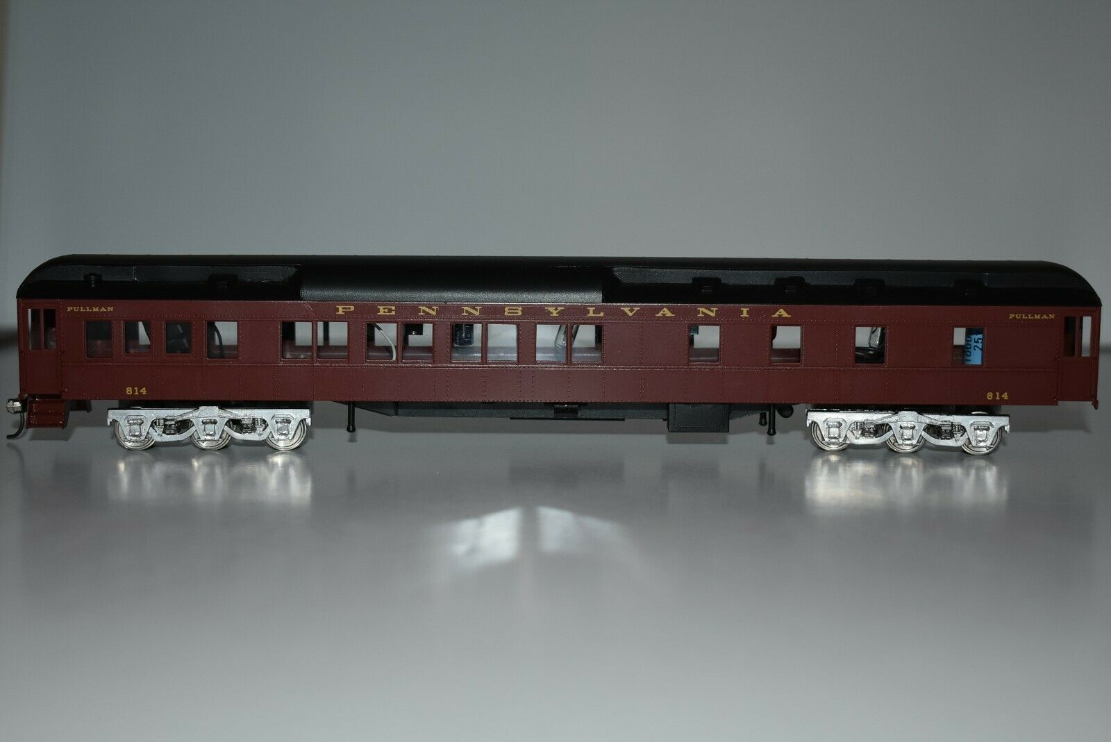 HO Scale Brass Lambert 814 Pennsylvania Pullman Passenger voiture J9654