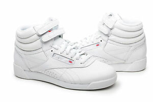 0219efcaa5618 Image is loading Reebok-Women-Shoes-Freestyle-Hi-Top-2-70-