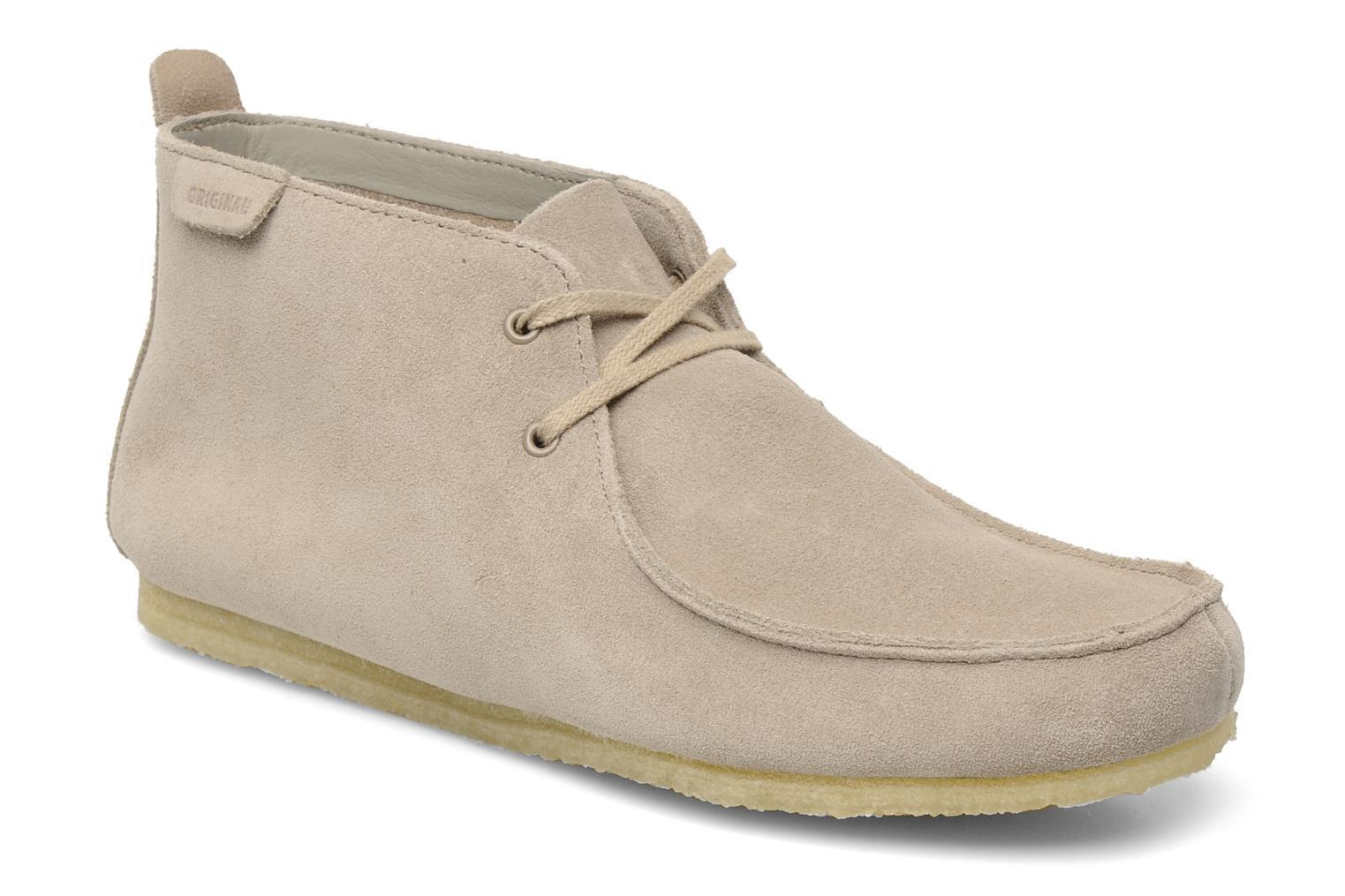 Clarks Originals Para Hombre  WALLABEES Suave     ante Color arena UK 6,7,8,10,11 G 1dc602