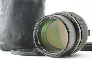 *NEAR MINT* Olympus OM-System Zuiko Auto-T 100mm f/2 MF Telephoto Lens JAPAN