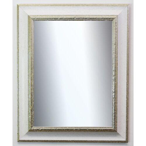 Badspiegel Weiß Silber Acta Antik 6,7 NEU alle Größen