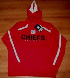 Top Kansas City Chiefs Hoodie Large Authentic NFL Embroidered Logos | eBay
