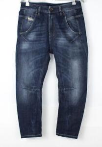 DIESEL Women Fayza Relaxed Boyfriend Low Waist Jeans Size W26 L24