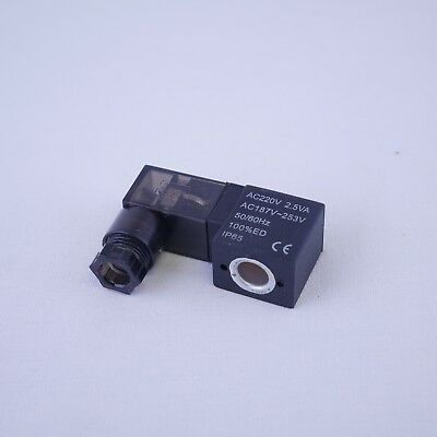 Solenoid Coil  DIN Connector with LED indicator 24VDC 2.5W