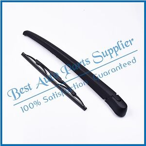ASLAM Rear Wiper Arm and Blade Set for Hyundai Tucson IX35 2010-2015//I30 2007-2011 Rear Windshield Wiper Arm Replacement Assembly