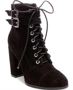 NEW Madden Girl Women's Klaim Combat Boots Size 7.5 Black $89